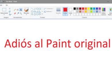 Adiós a Microsoft Paint, todo un símbolo de Windows (Actualizada)