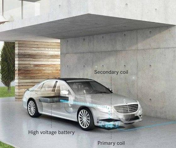 carga inalámbrica para coches