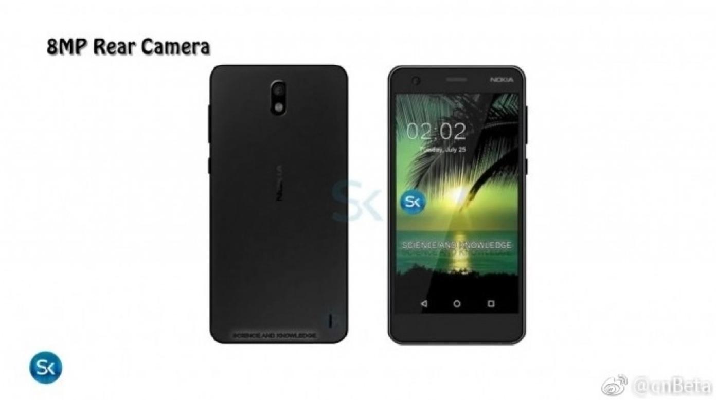 Primeros renders del Nokia 2, especificaciones 32