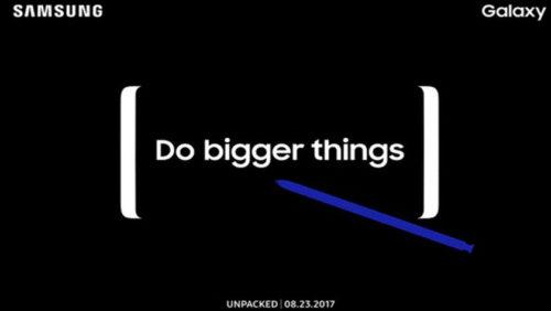 Es oficial: Samsung presentará el Galaxy Note 8 el 23 de agosto