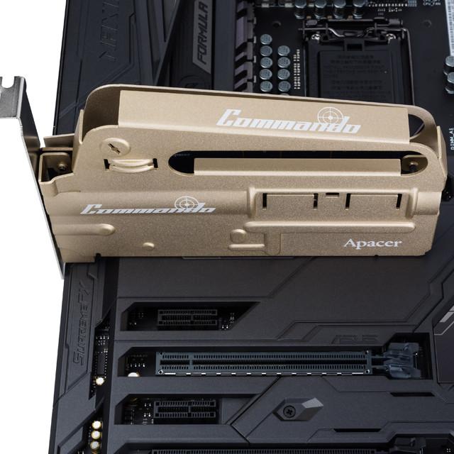 Apacer sorprende con el nuevo SSD PCIE PT920 Commando 31