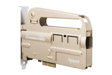 Apacer sorprende con el nuevo SSD PCIE PT920 Commando