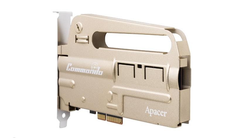 Apacer sorprende con el nuevo SSD PCIE PT920 Commando 29