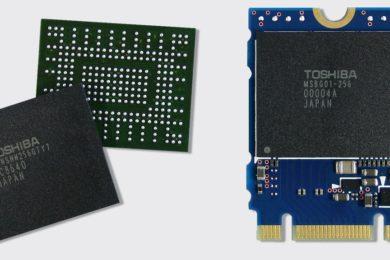 La memoria QLC de Toshiba iguala en resistencia a la memoria TLC