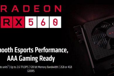 AMD prepara una Radeon RX 560D basada en Polaris 11, especificaciones