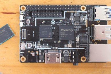 Rock64 Media Board Computer, un miniPC 4K por 25 dólares