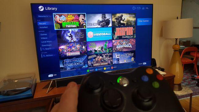 Valve soporta las Smart TV Samsung con la app Steam Link 31
