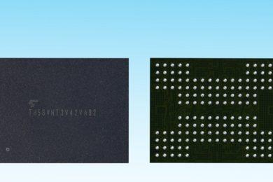 Toshiba desarrolla la primera memoria 3D NAND Flash con tecnología TSV
