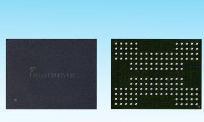 Toshiba desarrolla la primera memoria 3D NAND Flash con tecnología TSV 110