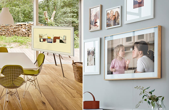 Samsung lanza The Frame, una televisión única con forma de cuadro 33