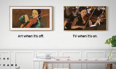 Samsung lanza The Frame, una televisión única con forma de cuadro 90