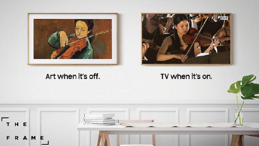Samsung lanza The Frame, una televisión única con forma de cuadro 29