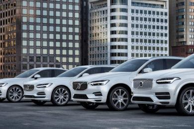Volvo Cars: todos híbridos o eléctricos en 2019