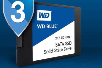 WD Blue 3D: nuevas SSD del gigante de los discos duros