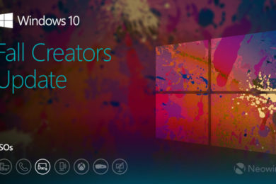 Microsoft publica ISO previa de Windows 10 Fall Creators Update