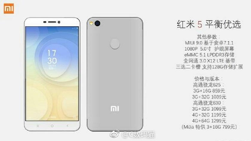 Asoma el Xiaomi Redmi 5, especificaciones completas 30