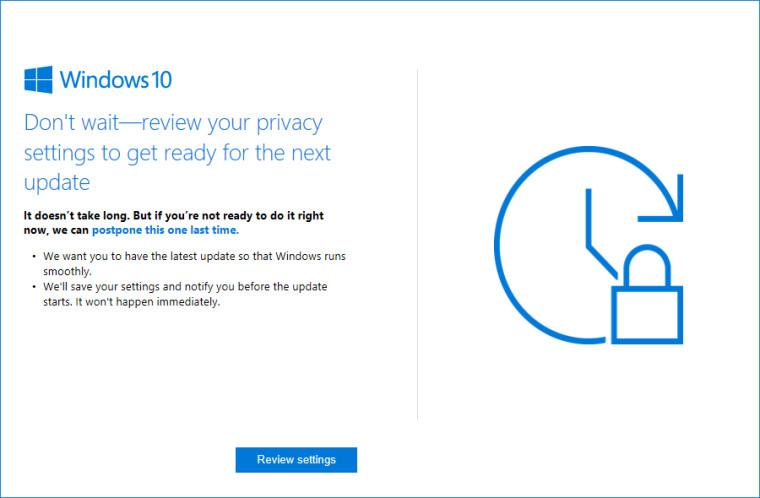 Microsoft recomendará a los usuarios que revisen los ajustes de privacidad 33