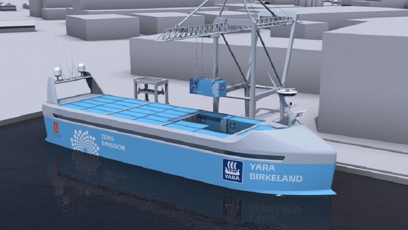 Noruega está construyendo el primer carguero totalmente eléctrico 31