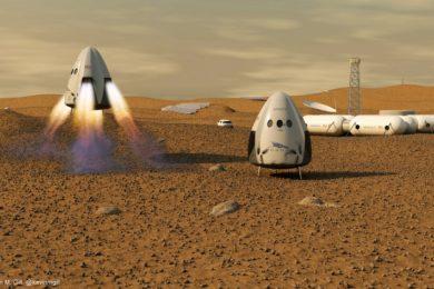 Elon Musk cambia los planes de SpaceX con respecto a Marte