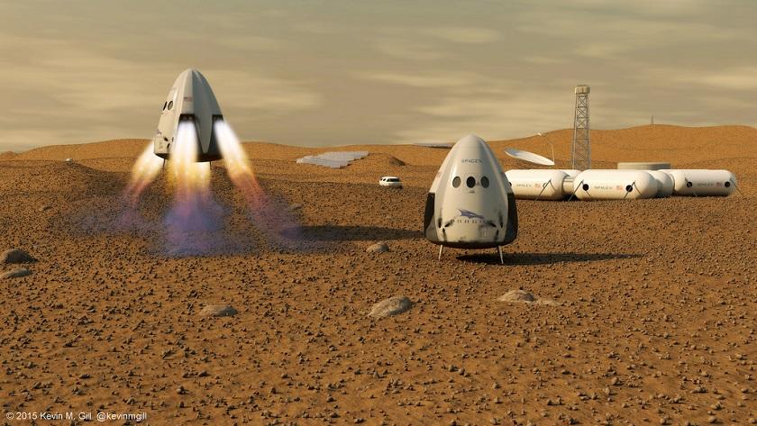 Elon Musk cambia los planes de SpaceX con respecto a Marte 29