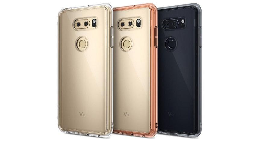 Ringke confirma el diseño del LG V30 con varias imágenes 29