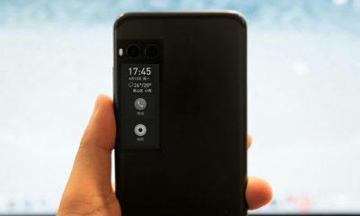 La pantalla secundaria del Meizu Pro 7 no es de tinta electrónica 44