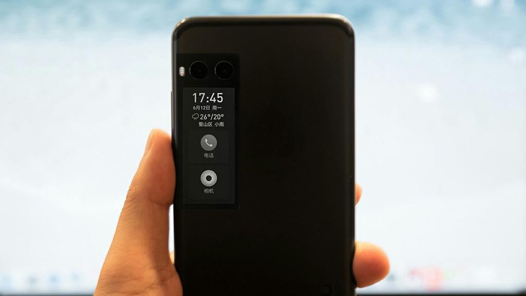 La pantalla secundaria del Meizu Pro 7 no es de tinta electrónica 30