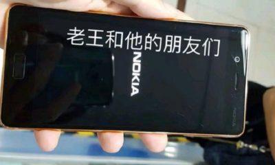 Imágenes reales del Nokia 8 en color cobre dorado 52