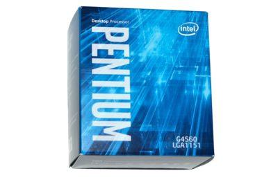 """El Pentium G4560 ha sido todo un éxito, ha """"canibalizado"""" a los Core i3"""
