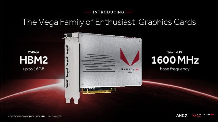 La Radeon RX Vega llegará en tres versiones; XTX, XT y XL 30