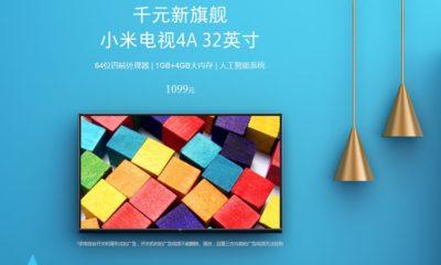 """Xiaomi presenta nueva Smart TV de 32"""" muy económica 49"""