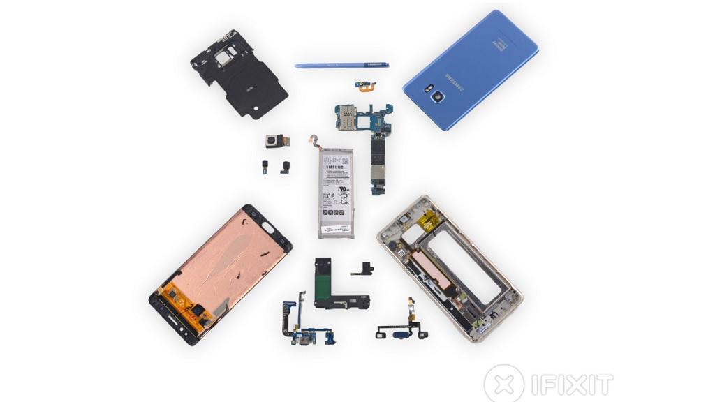iFixit desmonta el nuevo Galaxy Note FE, así es por dentro 30
