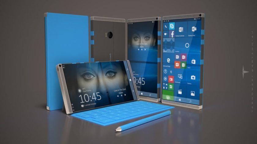 """Microsoft ya tiene un nuevo smartphone """"premium"""" en su campus"""