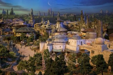 Primer vistazo al parque temático de Star Wars (en vídeo)