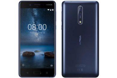 Vodafone filtra el precio del Nokia 8, costará poco más de 500 euros