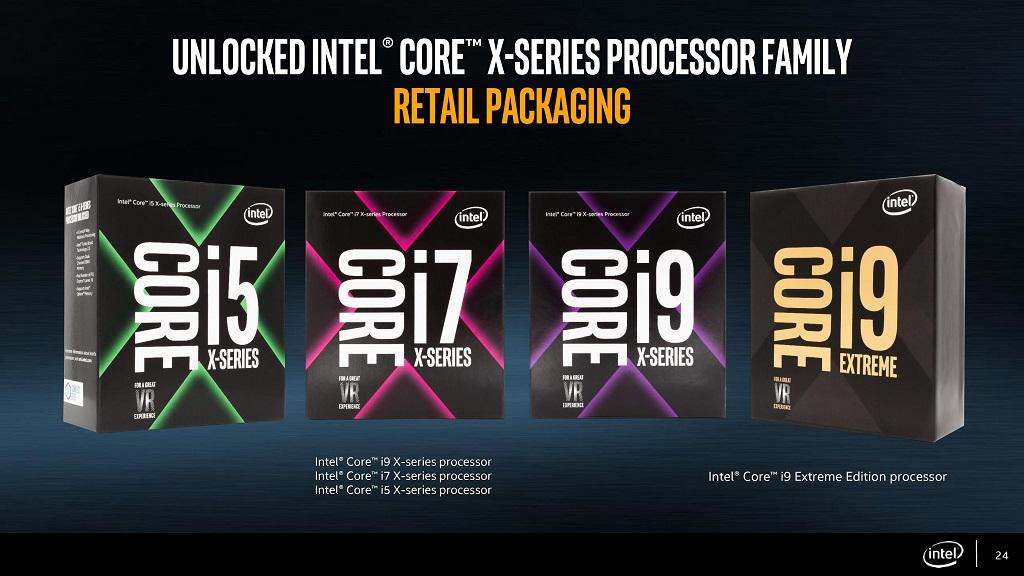 Especificaciones completas de los procesadores Skylake-X tope de gama 28