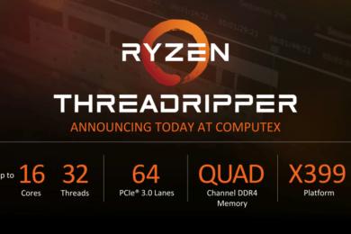 AMD incluirá refrigeración líquida AIO con los procesadores ThreadRipper