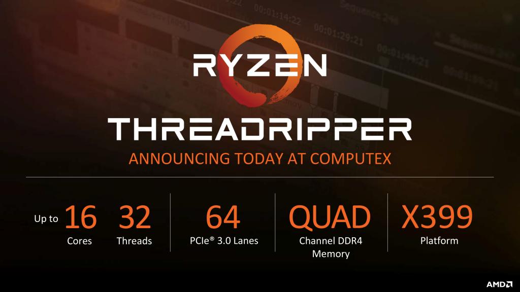 AMD incluirá refrigeración líquida AIO con los procesadores ThreadRipper 29