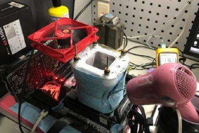 Logran llevar un Core i9 7900X a 6,01 GHz utilizando nitrógeno líquido