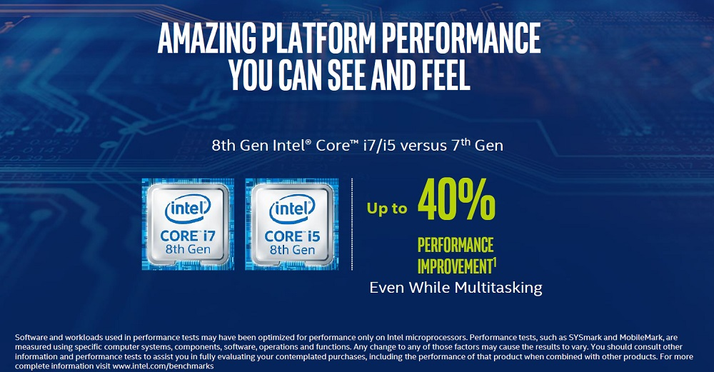 Intel anuncia los procesadores Core de octava generación 40