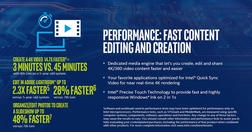 Intel anuncia los procesadores Core de octava generación 44