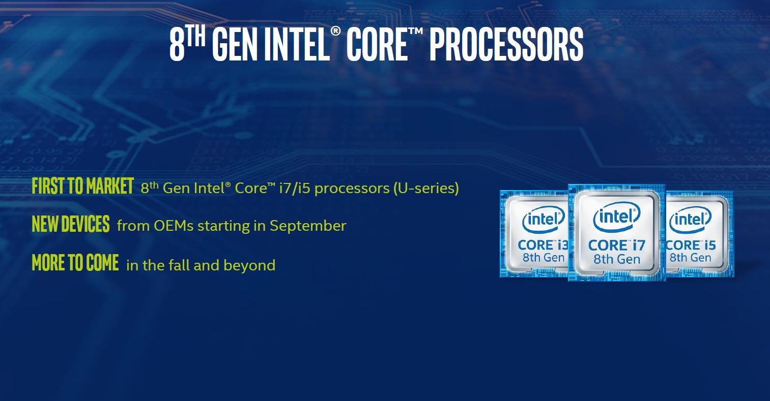 Intel anuncia los procesadores Core de octava generación 46
