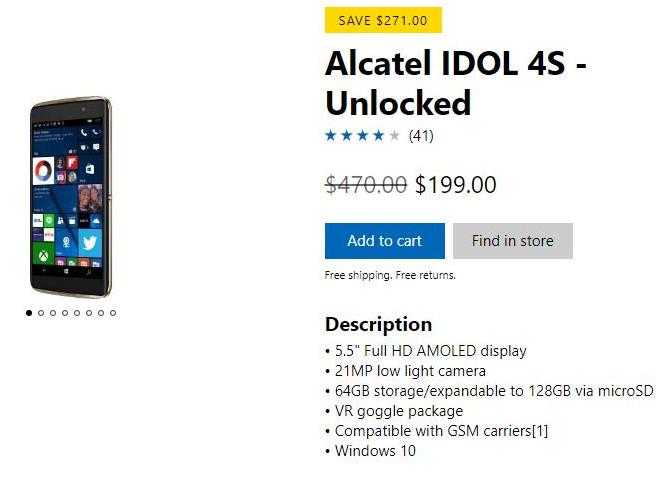 """Microsoft """"regala"""" el Alcatel IDOL 4S ¿Alguien quiere Windows Mobile? 30"""