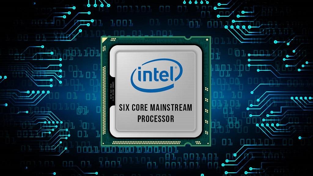 Listado un procesador Core 8000 para portátiles con 6 núcleos 30