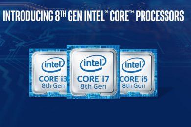 Intel anuncia los procesadores Core de octava generación