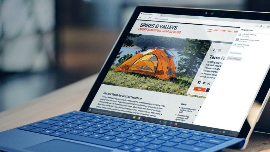 Windows 10 Fall Creators Update mejorará el rendimiento de Edge 30