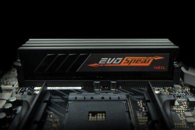 GeIL anuncia kits de DDR4 EVO SPEAR AMD Edition Series para RYZEN