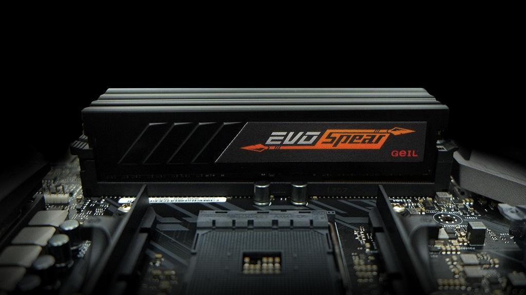 GeIL anuncia kits de DDR4 EVO SPEAR AMD Edition Series para RYZEN 30