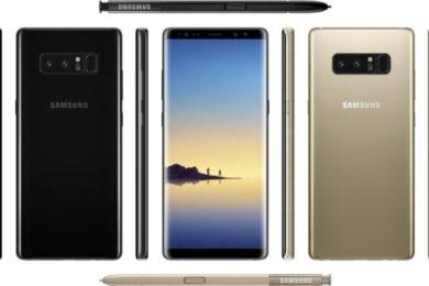 Galaxy Note 8 tendrá doble SIM en Europa