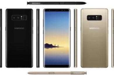 Galaxy Note 8, especificaciones finales